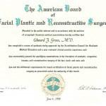 Board Certified – ABFPRS
