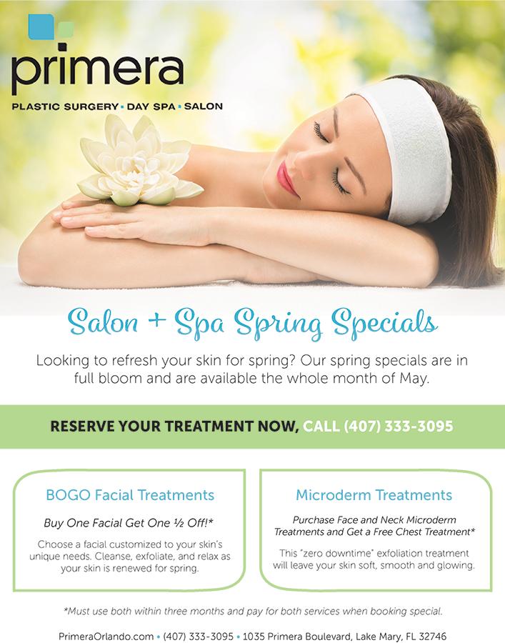 primera spring specials flyer