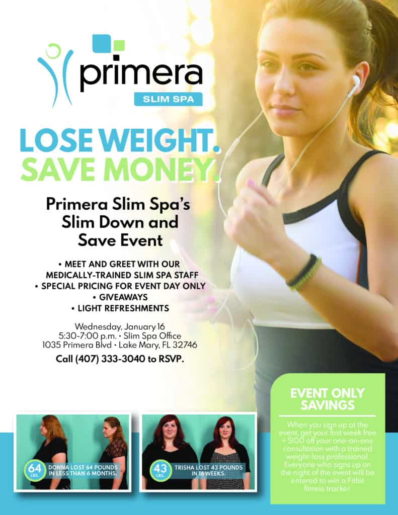 Slim Down and Save Event